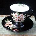 珈琲碗       『桜 黒』